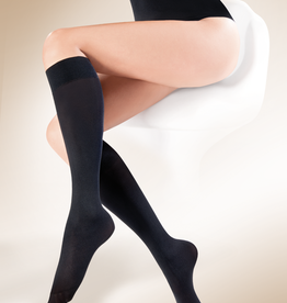 Gorteks Podkolanowki Knee Highs Black
