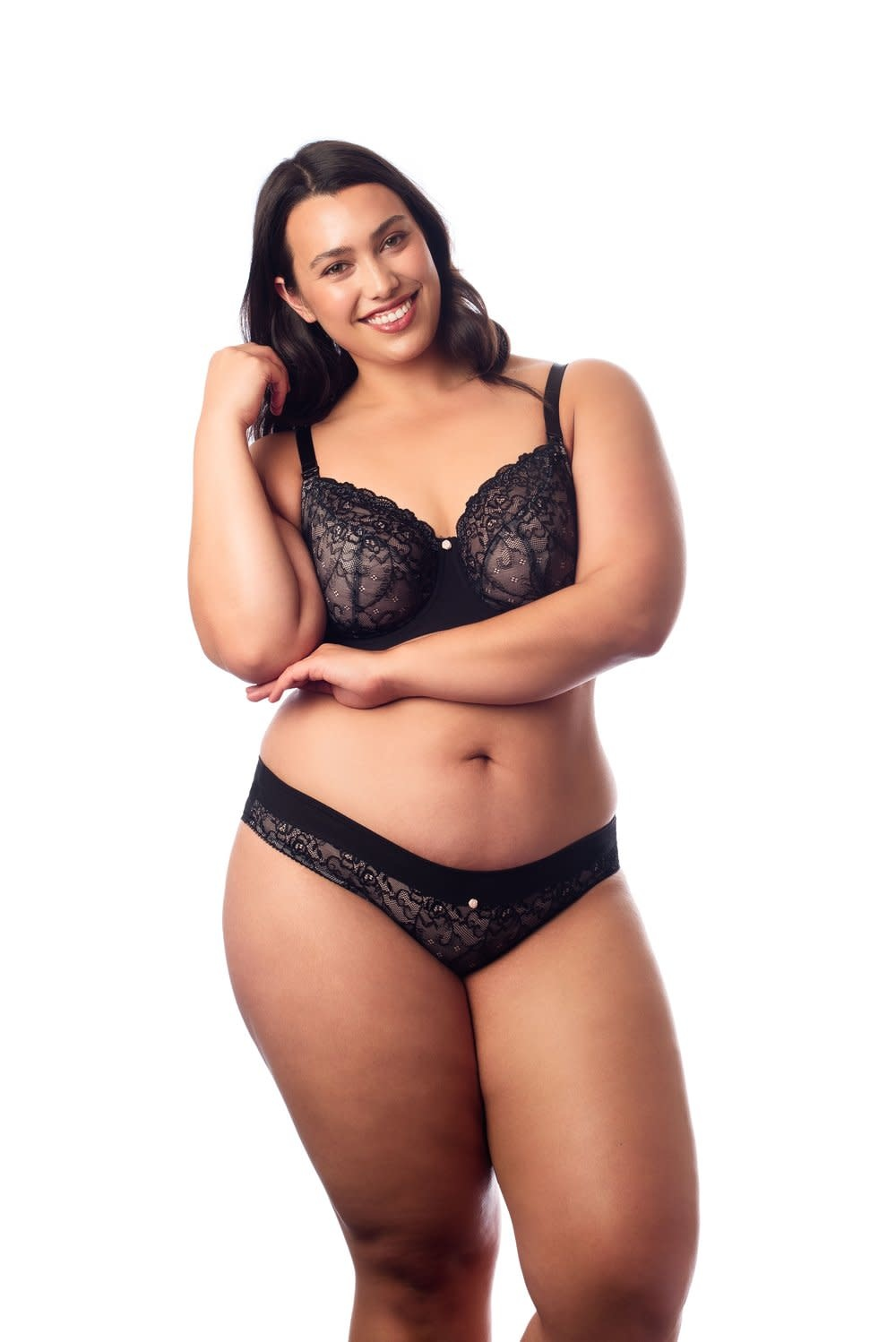 Hotmilk Temptation Flexiwire Maternity Bra Black