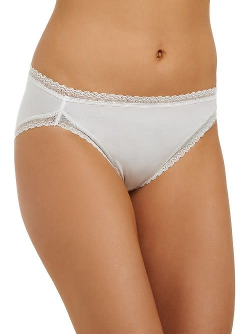Love & Lustre Love & Lustre Cotton Softies Hi Leg Brief Milk LL151