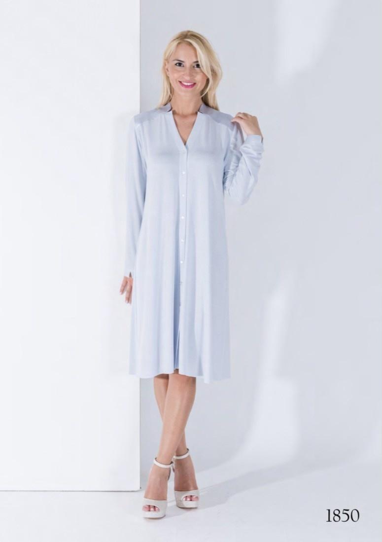 Annette Annette Maglia Button Down Dress Cielo 1850