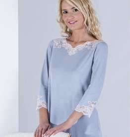 Annette Annette Maglia Lace 3/4 Sleeve PJ Ice 1838