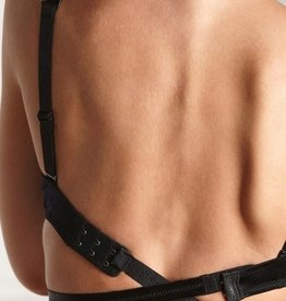 Secret Weapons Go Lo Low Back Bra Converter Black
