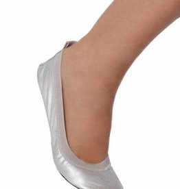 Secret Weapons Fold Up Flats Silver Glitz