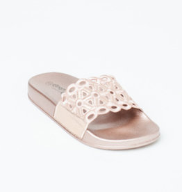 Gingerlilly Slippers (Slides) Rose Gold
