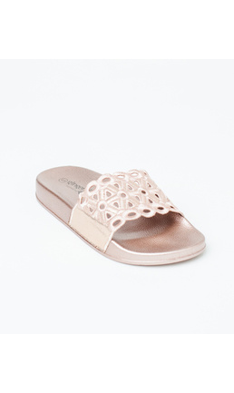 Gingerlilly Gingerlilly Slippers (Slides) Rose Gold