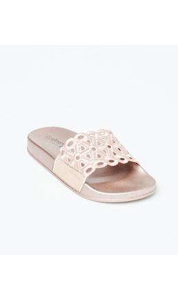 Gingerlilly Slippers (Slides) Rose Gold