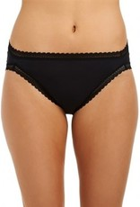 Love & Lustre Love & Lustre Cotton Softies Hi Leg Brief Black LL151