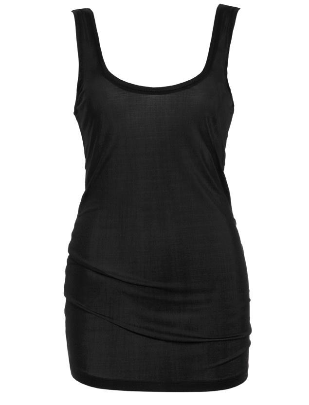 Love & Lustre Love & Lustre Silk Jersey Tank Black LL908