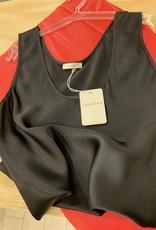 Love & Lustre Love & Lustre Silk Tank Black LL530