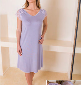 Annette Annette Canotta Maglia Short Sleeve Short Dress  Malva/Rosa 1419