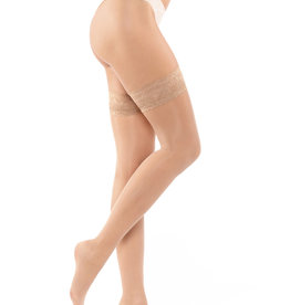 Gorteks Ponczochy Stay Up Stockings Beige