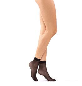 Gorteks Skarpetki Pantyhose Black Socks