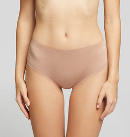 Yamamay High Waisted Cotton Brief Bronze