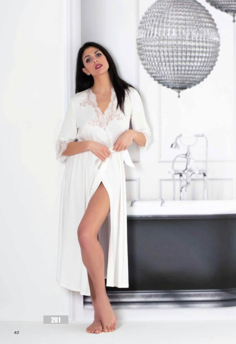 Clara Rossi Clara Rossi Long Robe Ivory 201