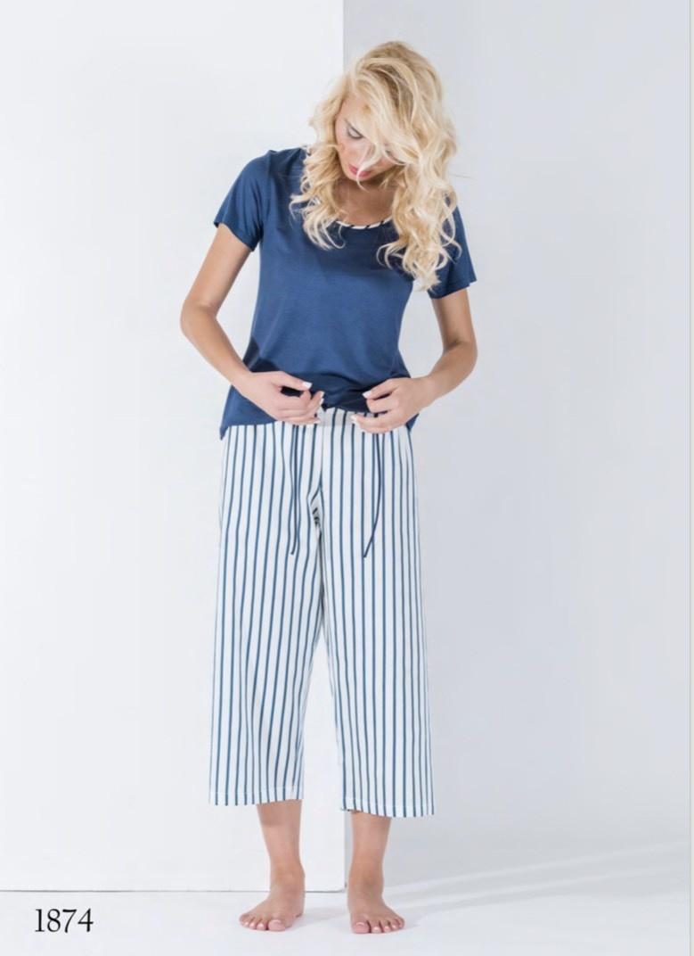Annette Annette Maglia 3/4 pants PJ Blue 1874