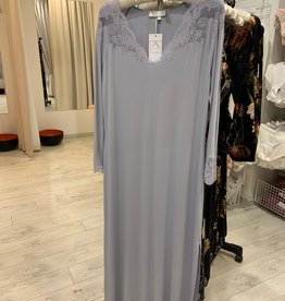 Annette Annette Maglia Long Dress 3/4 Sleeve Ice/Ice 1814