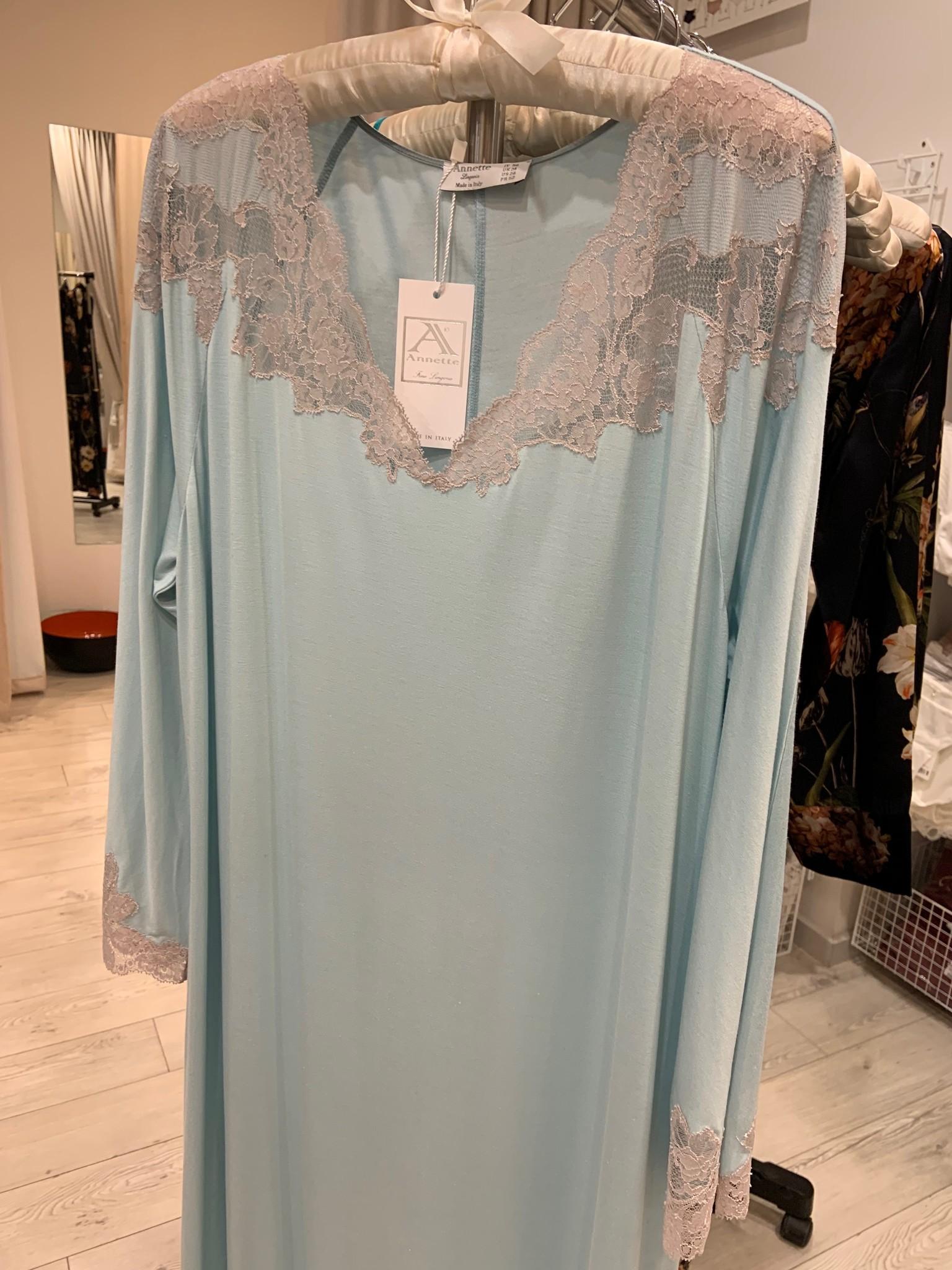 Annette Annette Maglia Long Dress 3/4 Sleeve 1814