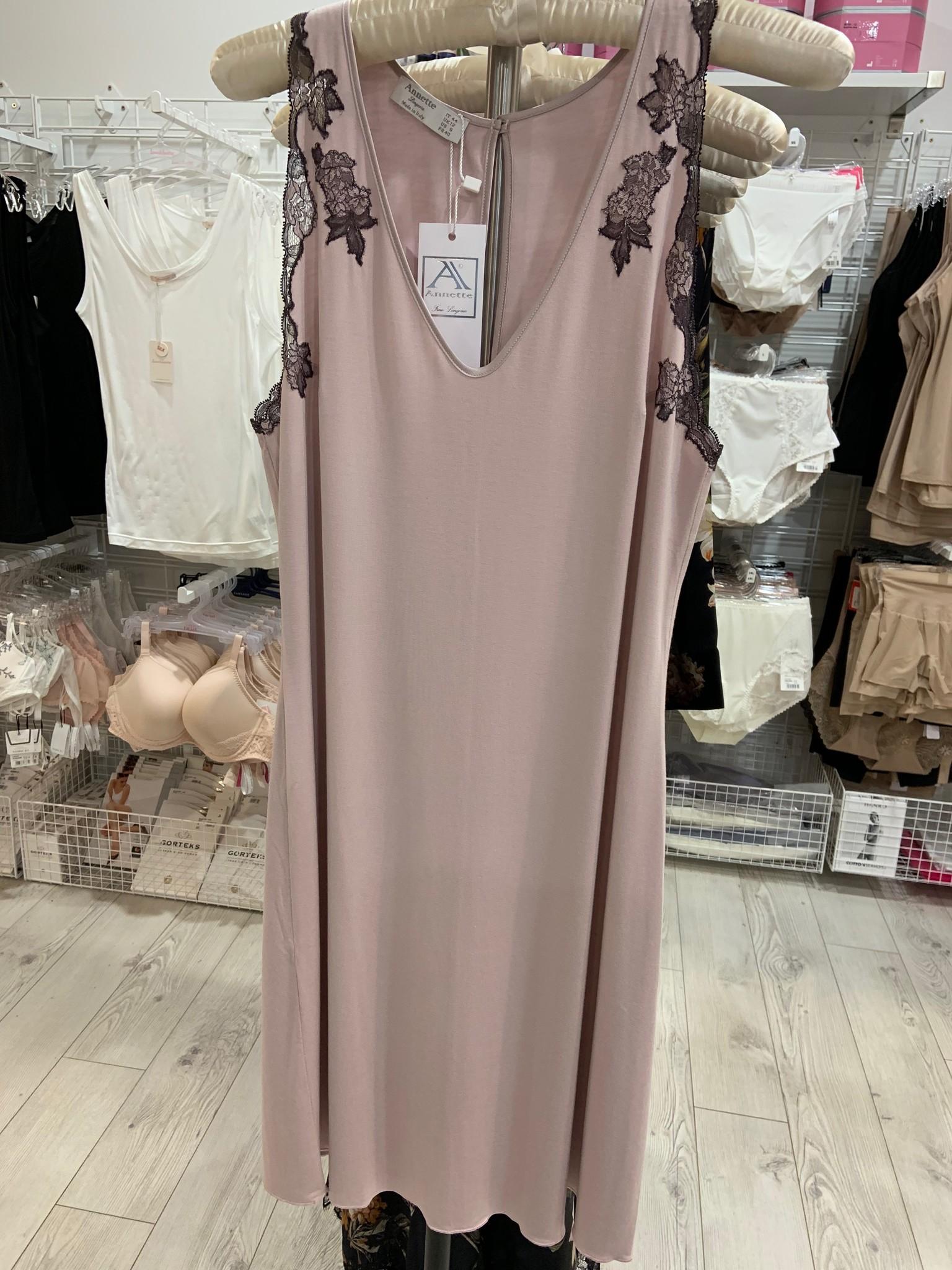 Annette Annette Canotta Maglia Sleeveless Short Dress 2014 Rosa/Shade