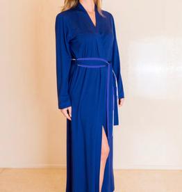 Annette Annette Long Sleeve Long Robe 1414 Royal