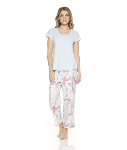 Gingerlilly Louise PJ Set with 3/4 Pants