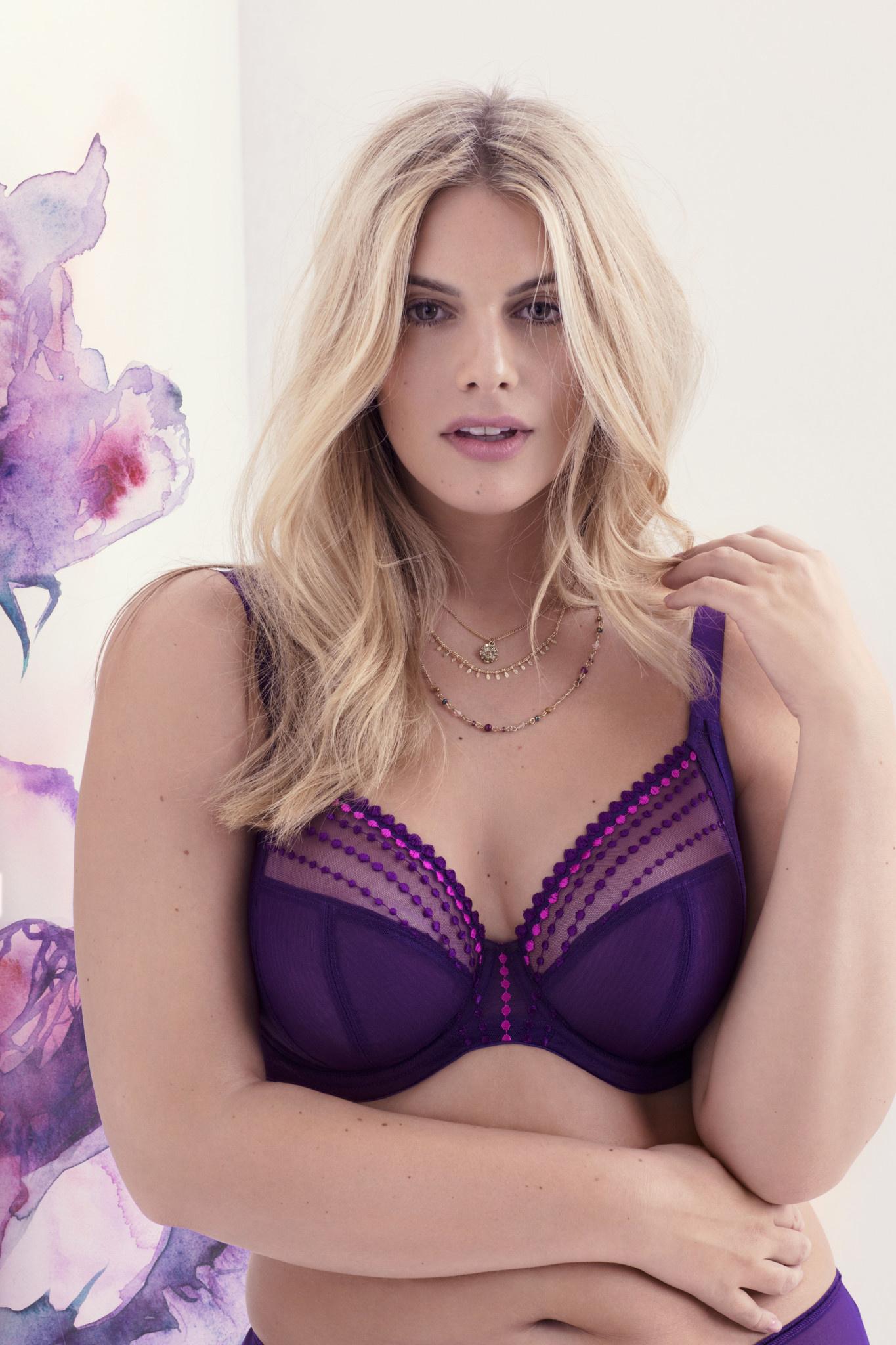 Elomi Elomi Matilda Plunge Bra Purple
