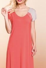 Annette Annette Sleeveless Short Dress Papavero/Sand 2212
