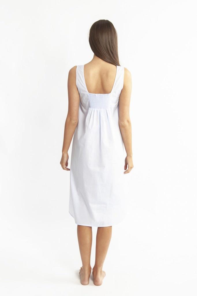 Love & Lustre Love&Lustre Cotton Spot B/Up Shoulder Nightie LL863
