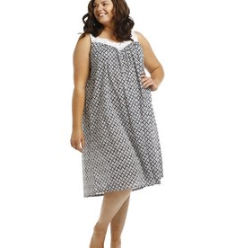 Arabella Arabella Navy Print Nightie