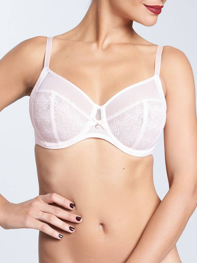 Chantelle Chantelle Revele Moi 4 Part Bra Light Pink