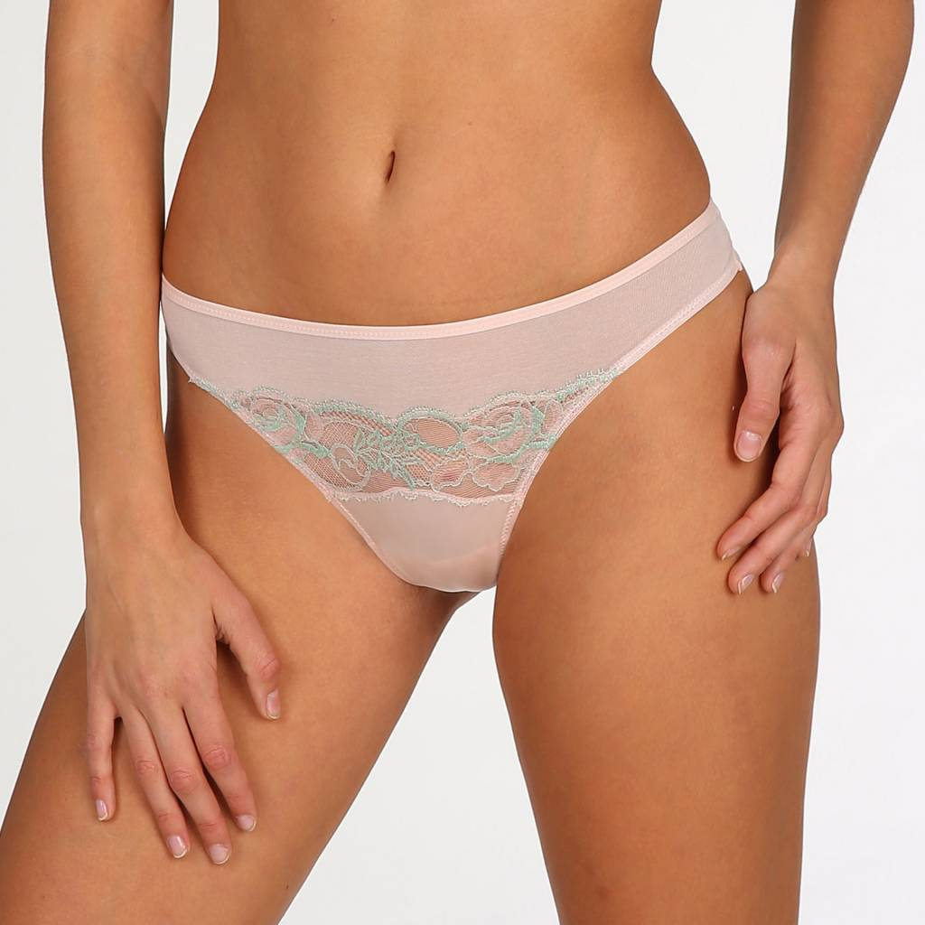 Marie Jo Mai Thong Pearly Pink