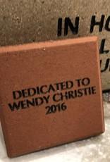 Brick - Mini Commemorative