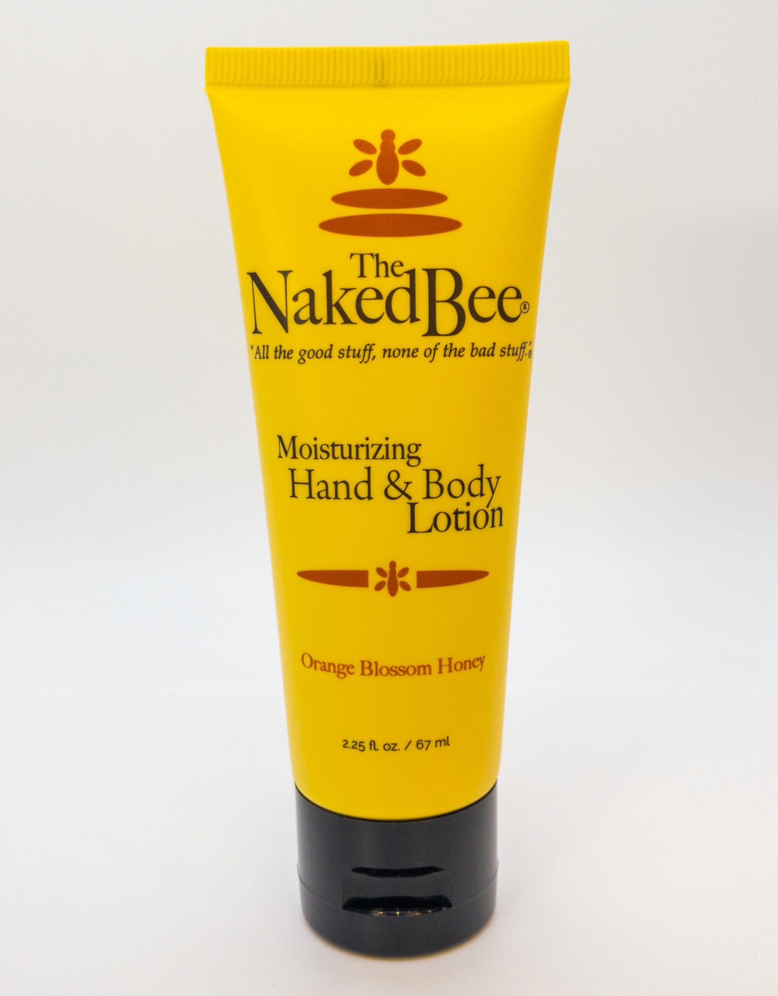 The Naked Bee The Naked Bee - Moisturizing Hand and Body Lotion in Orange Blossom Honey, 2.25 oz.