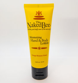 The Naked Bee The Naked Bee - Moisturizing Hand and Body Lotion, Orange Blossom Honey, 2.25 oz.
