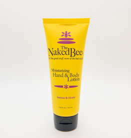 The Naked Bee The Naked Bee - Moisturizing Hand and Body Lotion, Jasmine and Honey, 2.25 oz.