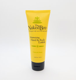 The Naked Bee The Naked Bee - Moisturizing Hand and Body Lotion, Citron and Honey, 2.25 oz.