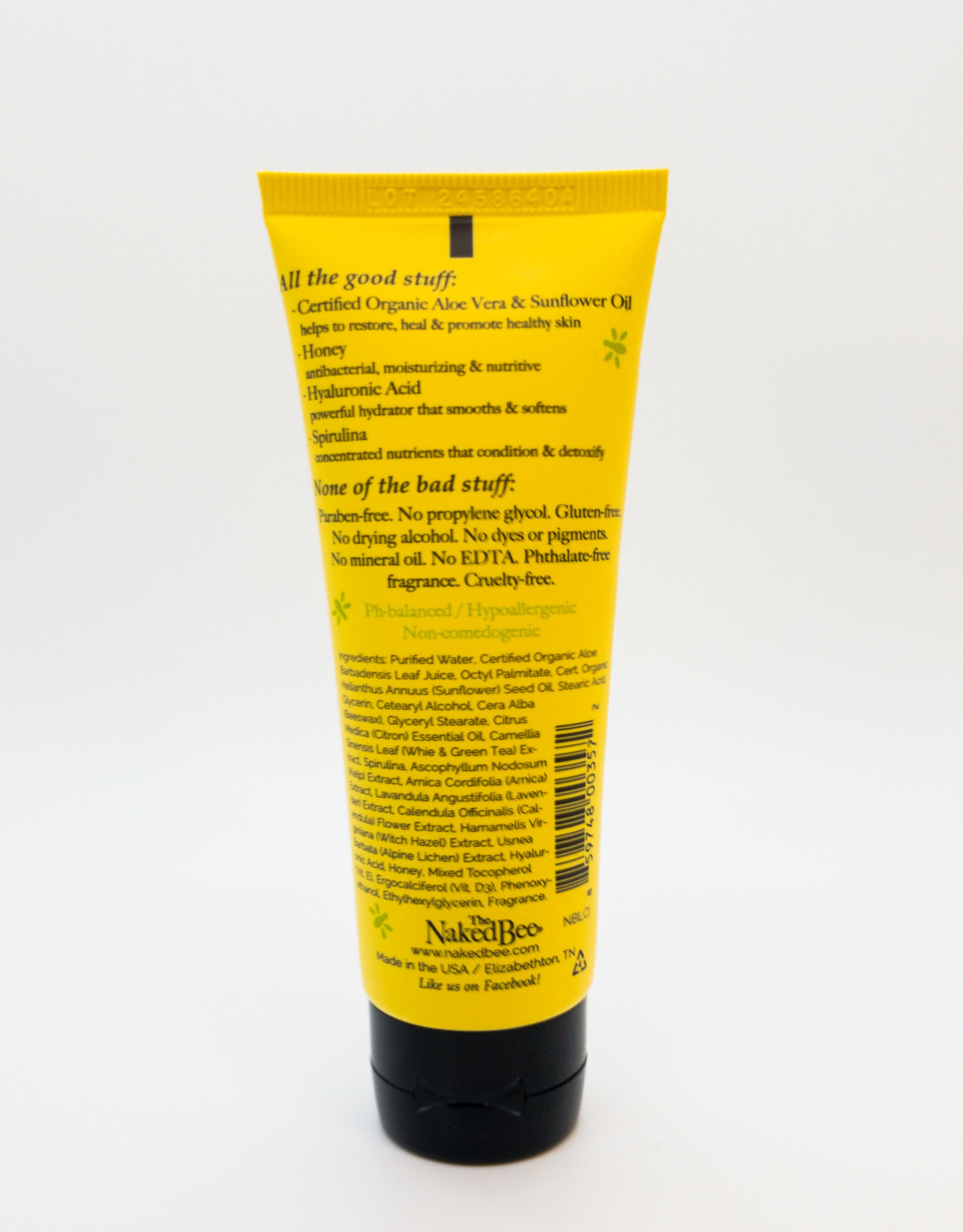 The Naked Bee The Naked Bee - Moisturizing Hand and Body Lotion in Citron and Honey, 2.25 oz.