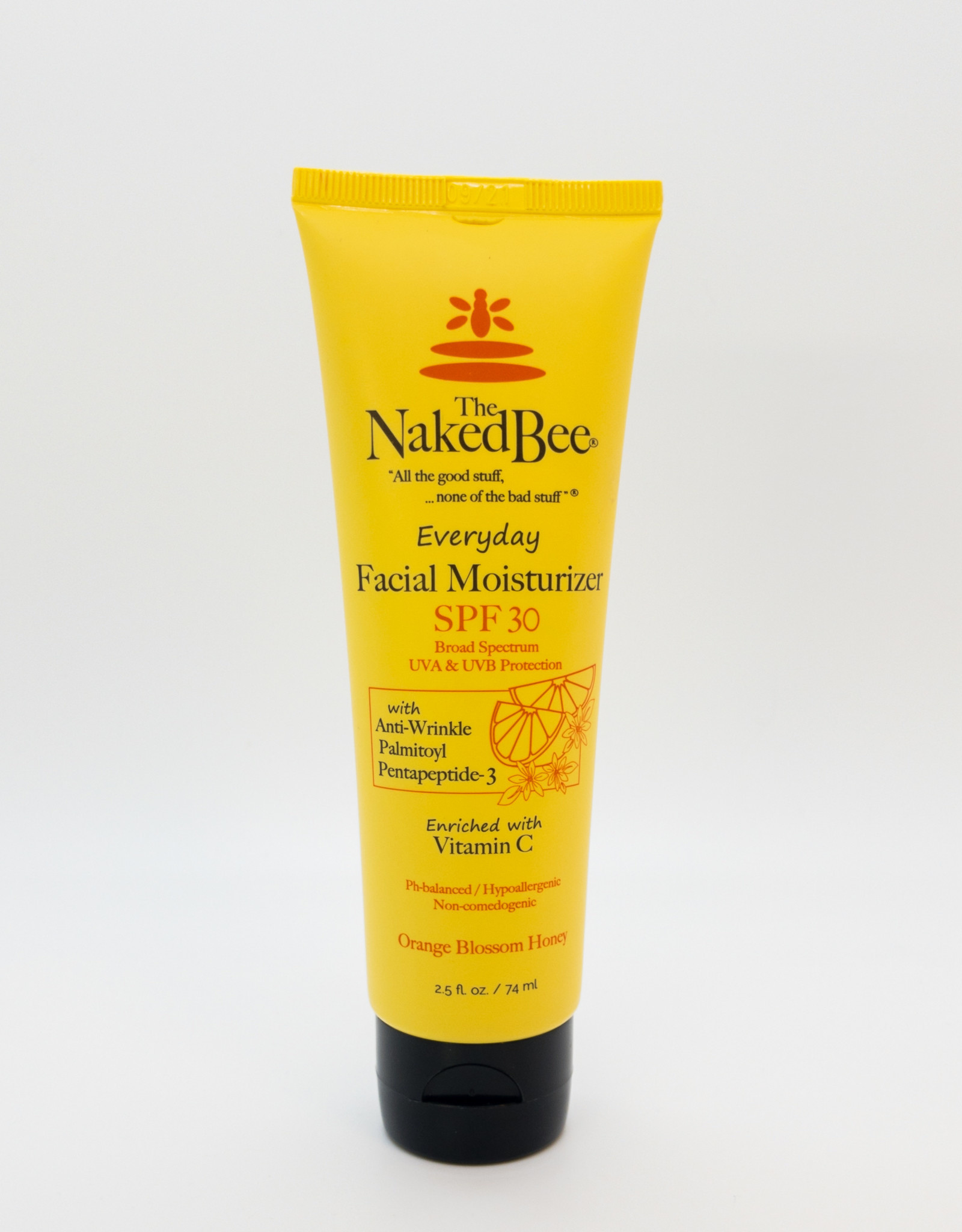 The Naked Bee The Naked Bee - Everyday Facial Moisturizer in Orange Blossom Honey with SPF 30, 2.5 oz.