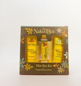 The Naked Bee The Naked Bee - Mini Bee Kit, Orange Blossom Honey, 3-Pack