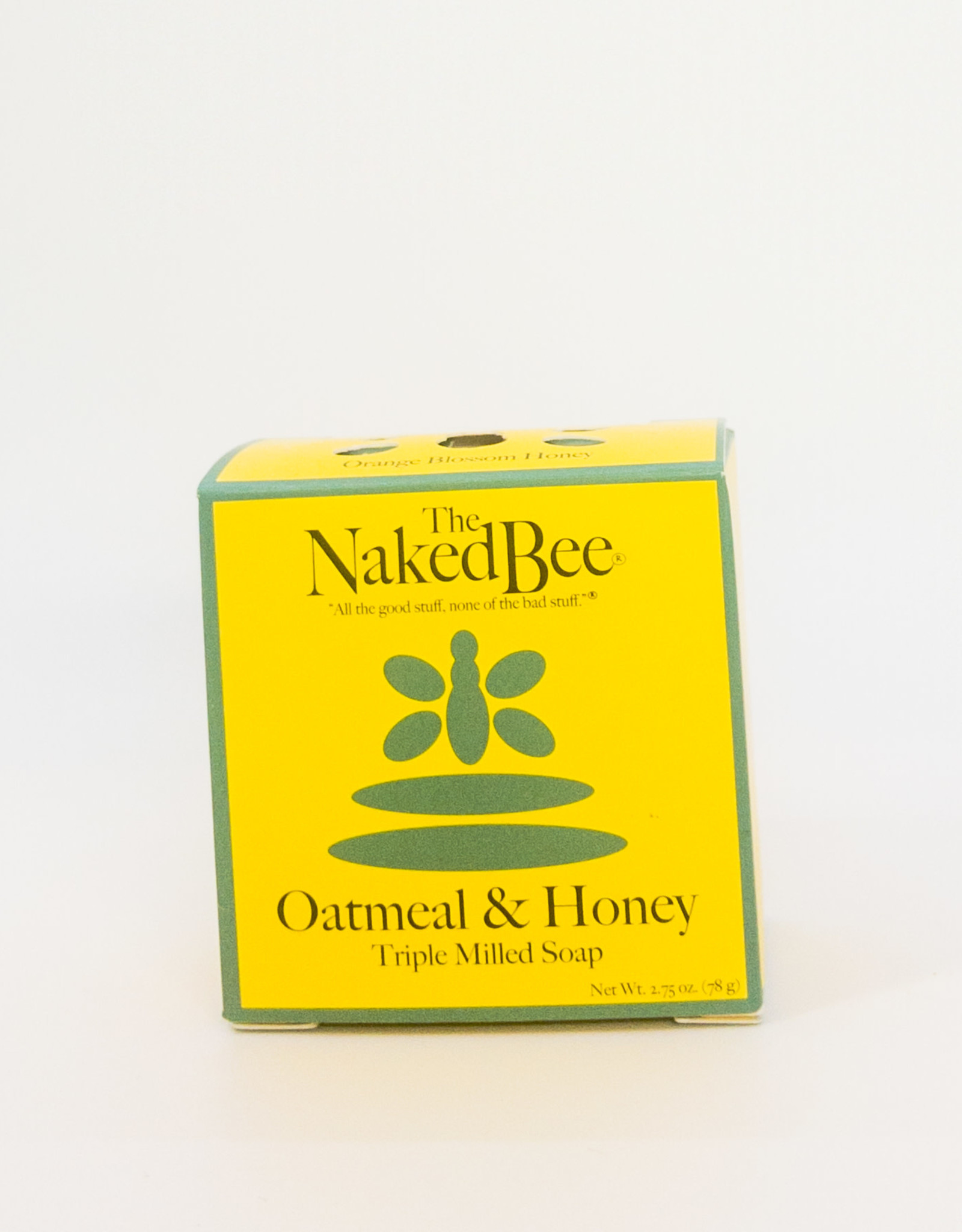 The Naked Bee The Naked Bee - Triple Milled Soap in Oatmeal and Honey, 2.75 oz.