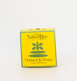 The Naked Bee The Naked Bee - Triple Milled Soap, Oatmeal and Honey, 2.75 oz.