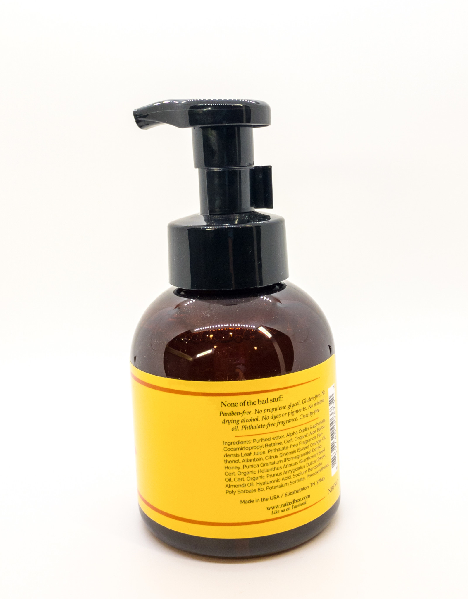 The Naked Bee The Naked Bee - Foaming Hand Soap in Orange Blossom Honey, 12 oz.