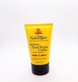 The Naked Bee The Naked Bee - Serious Hand Repair Cream, Orange Blossom Honey, 3.25 oz.