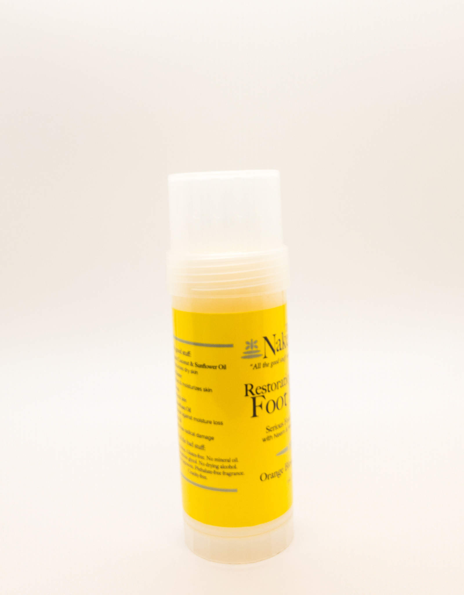 The Naked Bee The Naked Bee - Restoration Foot Balm in Orange Blossom Honey, 2 oz.