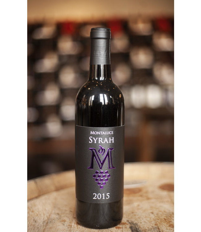 Montaluce Winery 2015  Syrah