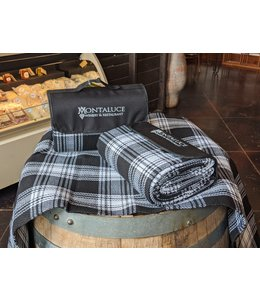 True Brands Plaid Picnic Blanket