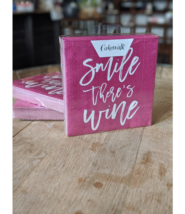 True Brands Smile, There's Wine