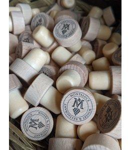 True Brands Wooden Bottle Stopper