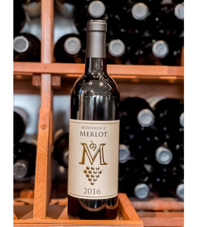 Montaluce Winery 2016 Merlot Single