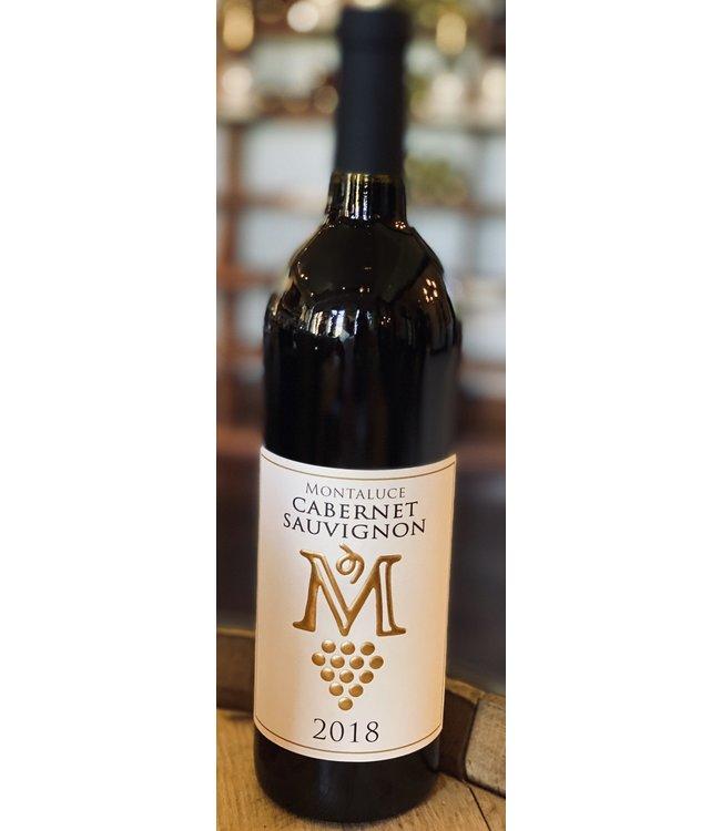 Montaluce Winery CA/SH 2018 Cabernet Sauvignon Single