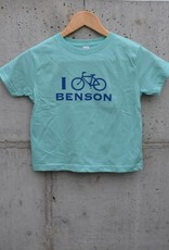 I Bike Benson Kids' Tee